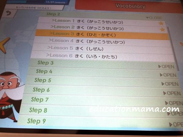 進研ゼミチャレンジイングリッシュ ステップアップテスト